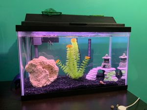 Fish Tank 10 gallon for Sale in Baltimore, MD