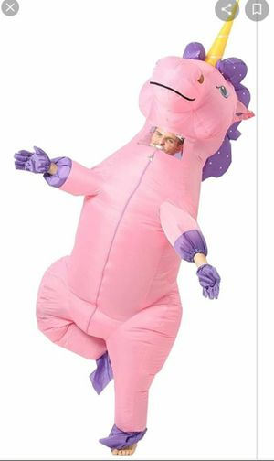 Adult unicorn Inflatable Costume for Sale in Moreno Valley, CA