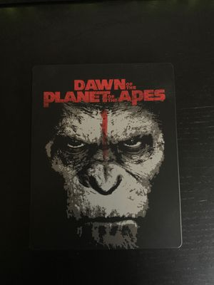 Dawn of the Planet of the Apes Blu Ray Best Buy Steelbook for Sale in Everett, WA