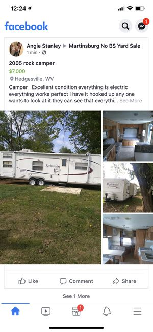 2005 rock camper for Sale in Martinsburg, WV