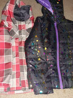 Two Winter Coats Red N Purple Coat Size:Medium for Sale in Salt Lake City,  UT