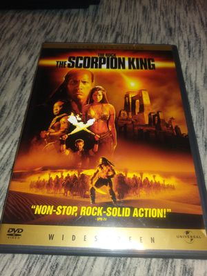 The Scorpion King dvd for Sale in Kansas City, MO