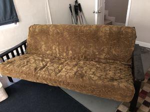 Futon & leg rest for Sale in Boca Raton, FL