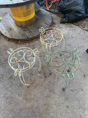 3 flower pot stands for Sale in Clearwater, FL