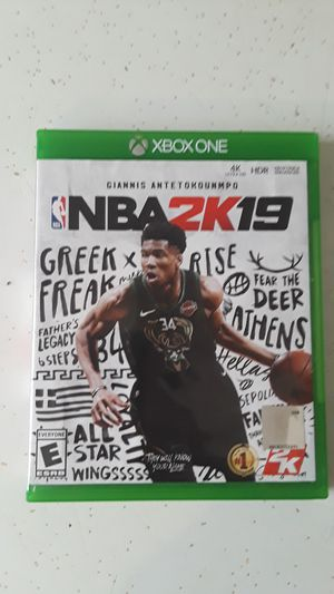 Xbox one 2k19 like New $25 for Sale in Winter Haven, FL