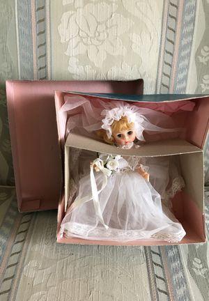 "Madame Alexander 8"" Doll ""Bride"" 435 Blonde Hair Blue Eyes Original Box for Sale in Bristow, VA"