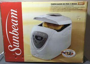 Sunbeam programmable bread,maker for Sale in Bloomington, CA
