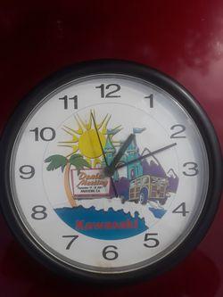 KAWASAKI Clock for Sale in Wichita,  KS