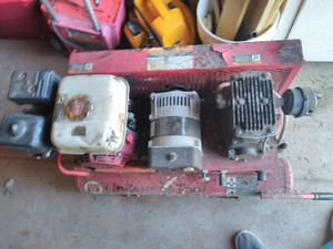 Universal tools gas powered air compressor and generator combo for Sale in Norman, OK