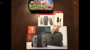 Nintendo Switch 32gb Also Includes: Mario Kart Deluxe game, Joy-Con Charging Grip and Car Charger for Sale in Acworth, GA
