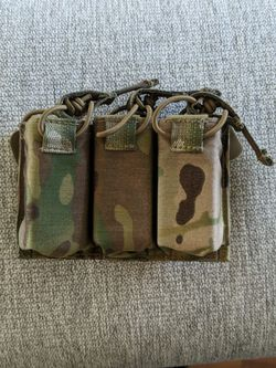 Triple Pistol Mag Pouch. Asking 60$ OBO for Sale in Tacoma,  WA