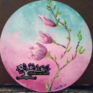 BLOOMING SPRING MAGNOLIAS 10X10 ROUND for Sale in Duluth, MN