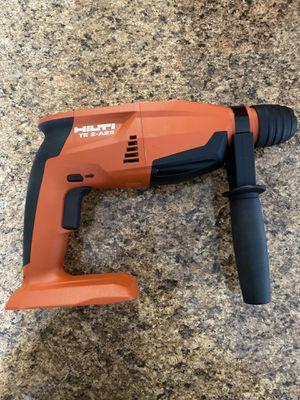 Hilti 22-Volt Lithium-Ion SDS Plus Cordless Rotary Hammer Drill for Sale in Miami, FL
