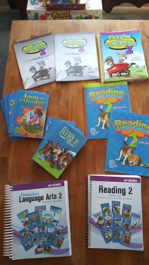 Abeka LA & Reading 2 for Sale in Puyallup, WA