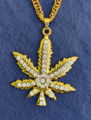 Gold-Plated CZ Necklace for Sale in Charlotte, NC