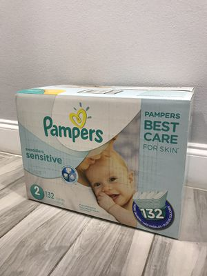 Pampers Diapers size 2 for Sale in Fort Lauderdale, FL