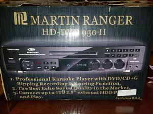 Karaoke player with dvd/cd system for Sale in Phoenix, AZ