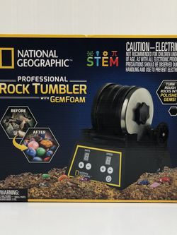 NatGeo Rock Tumbler kit for Sale in Boulder, CO