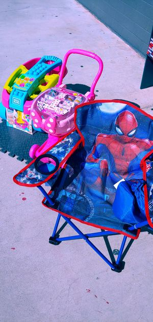 New Spider-Man chair folds up $14.99 for Sale in Phoenix, AZ