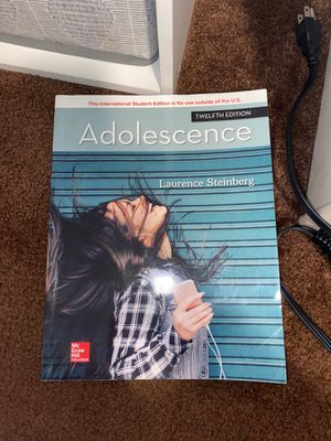 Adolescence 12th edition for Sale in Norwalk, CA