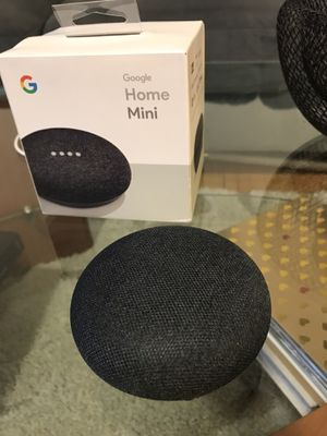 Brand new Google mini (Charcoal color) for sale 🎯 for Sale in Guttenberg, NJ