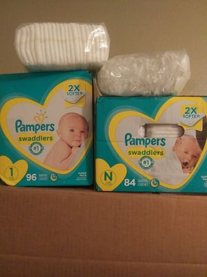 PAMPERS SWADDLERS for Sale in Scottsdale, AZ