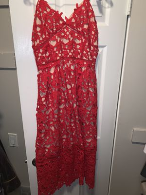 Red Dress semi formal for Sale in Anaheim, CA