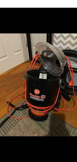 Hoover Pro vacuum backpack heavy duty commercial series for Sale in Orlando, FL