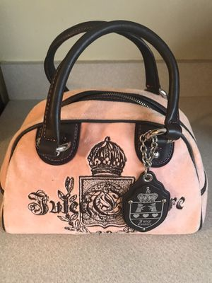 Juicy Couture Purse (Pink/Brown) for Sale in Chicago, IL