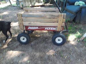 Garden buggy wagon factory made radio flyer wagon for Sale in Knoxville, TN