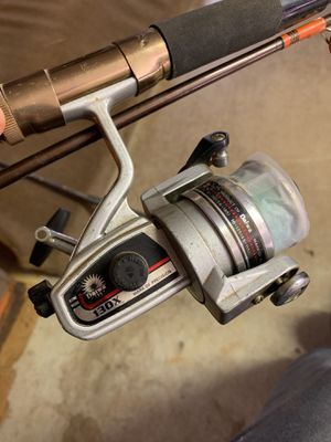 Daiwa 130X Fishing Reel with Olympic 3065 Rod for Sale in Westminster, MD