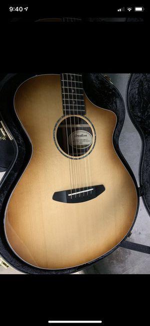 Breedlove premier concert ce professional acoustic guitar for Sale in Las Vegas, NV