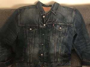 Men's XL Levi's Denim Jean Jacket - Dark wash for Sale in Denver, CO