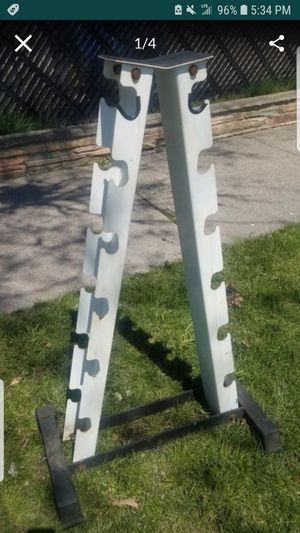 FRAME DUMBBELL RACK for Sale in Chicago, IL