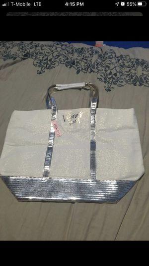 Victoria Secret sequined tote bag for Sale in San Bernardino, CA