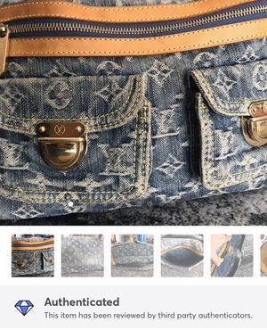 Authentic Louis Vuitton Denim Baggy PM for Sale in Fort Pierce, FL