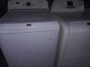 MAYTAG BRAVOS WASHER AND MAYTAG NEPTUNE ELECTRIC DRYER for Sale in Phoenix, AZ