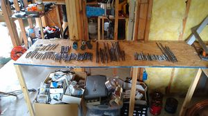 Wood, masonry, and metal drill bits for Sale in Prairieville, LA