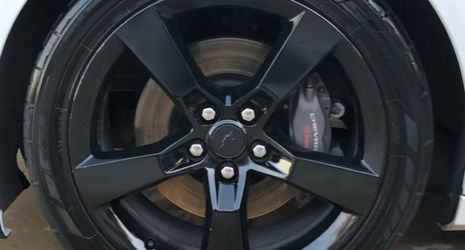 2013 Camaro SS Stock Wheels And Nitto 555 G2 for Sale in San Antonio,  TX