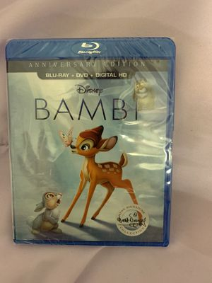 Bambi Anniversary Edition DVD for Sale in Lakeside, CA