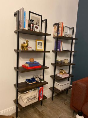 Modern Wall Shelves/Bookcase/Leaning Bookcase - Ikea, Bo Concept, Calligaris, West Elm, CB2, Crate and Barrel, Restoration Hardware, Artefacto, Modan for Sale in Miami, FL