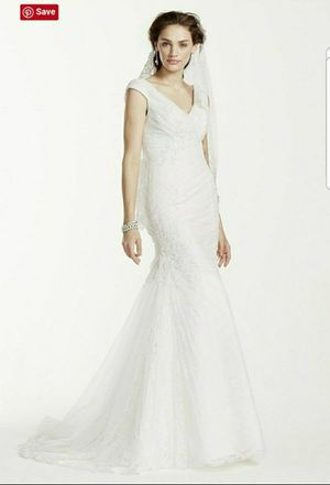 David's Bridal Wedding Dress Size 10 for Sale in IL, US
