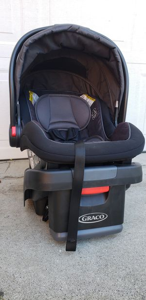 Graco car seat and base & Car seat frame Stroller for Sale in Industry, CA