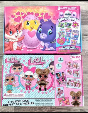 Hatchimals and LOL Dolls Puzzles for Sale in St. Louis, MO