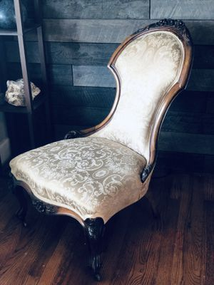 Antique Silk Parlor Chair Year 1856 for Sale in Vancouver, WA