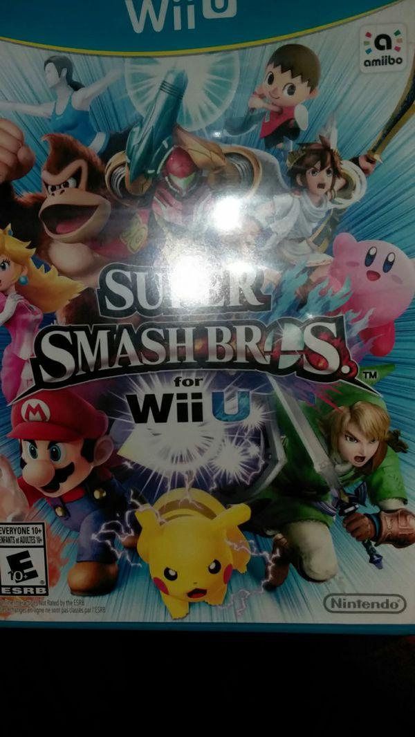 Nintendo Wii U super smash bros wii u 25 or obo