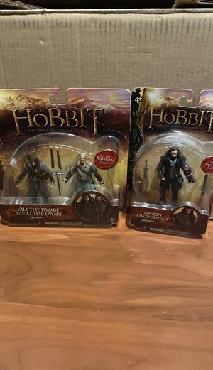 The Hobbit Action Figures - Fili Kilo Thorin for Sale in Downey, CA