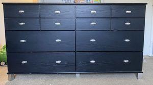 6-Drawer Black Dresser for Sale in Corona, CA