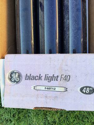 T-12 Black Light Florescent lights & extra tubes for Sale in Fontana, CA