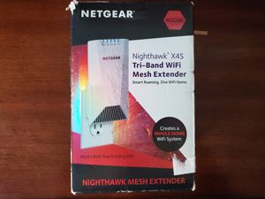 NETGEAR NIGHTHAWK X4S 2200ac AC TRI-BAND WIFI MESH EXTENDER for Sale in Chandler, AZ